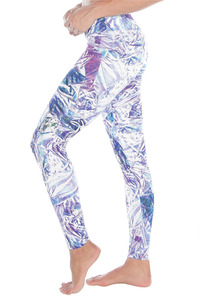WITH Women Leggings CRYSTAL FOIL
