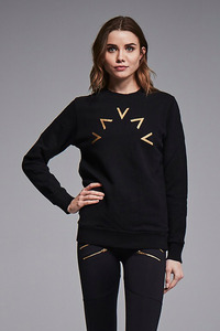 VARLEY CHELSEA SWEAT BLACK GOLD