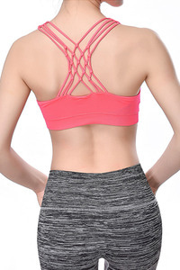 ITZON SEAMLESS BRA TOP NEON PINK [ONE SIZE]