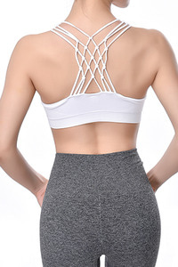 ITZON SEAMLESS BRA TOP WHITE [ONE SIZE]