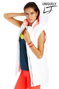 Pitch Puffa Vest - Winter White