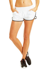 Game Changer Run Short - White/Black