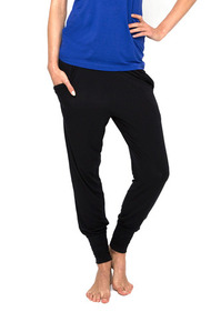 DHARMA BUMS BLACK RELAX PANTS